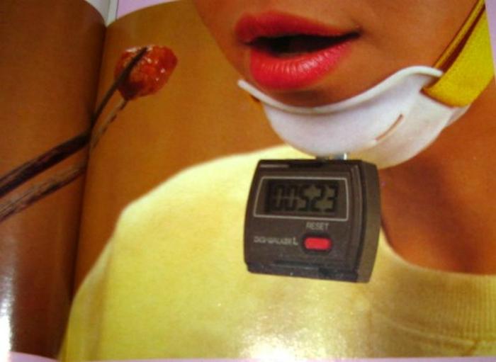 Устройство, которое подсчитывает, насколько тщательно вы жуете.