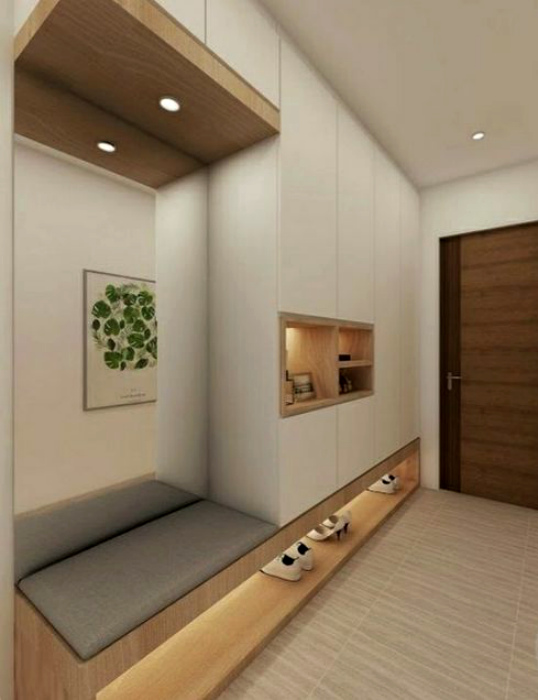 Прихожая с красивой и функциональной мебелью. | Фото: ProDesign.