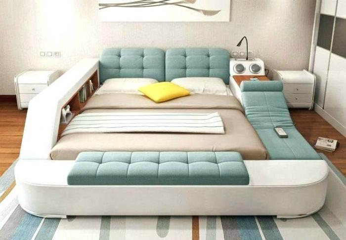 Многофункциональная кровать. | Фото: Zibainis.