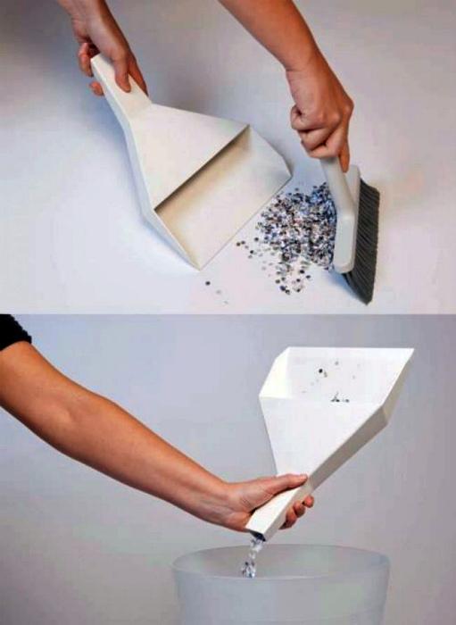 Набор для уборки на столе. | Фото: Blog de Humor.