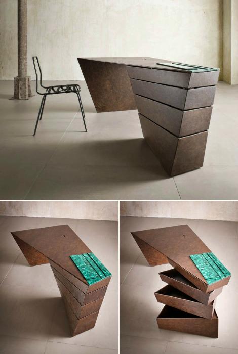 Письменный стол от британской студии M Lab.