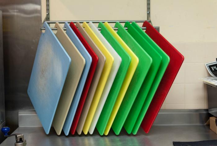 Разделочные доски из пластика.