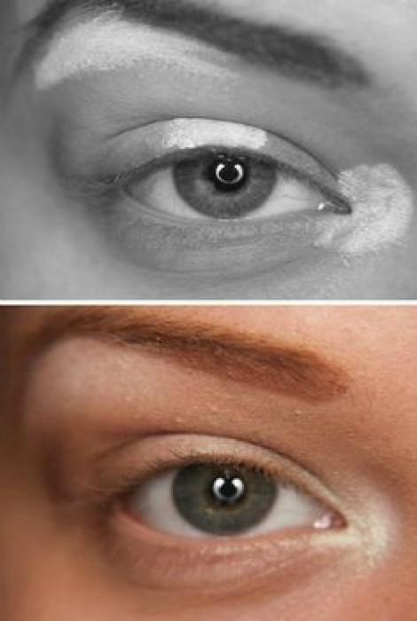 Хайлайтер для макияжа глаз.
