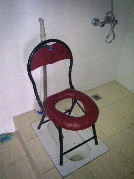 Королевский туалет.