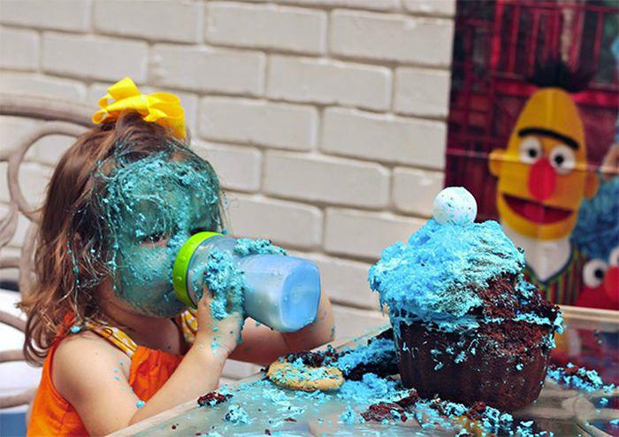 Принцесса и ее торт.