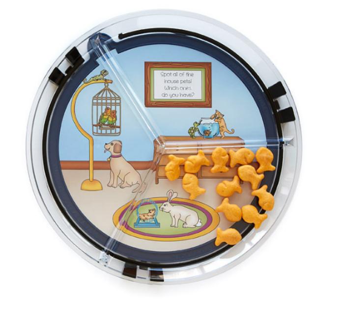 Интерактивная тарелка. | Фото: Yousense.info.