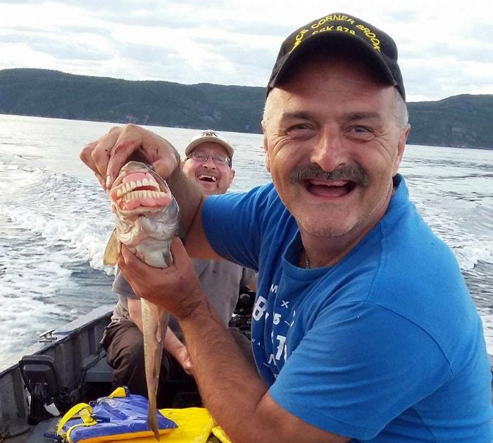 Вставная челюсть у рыбы.