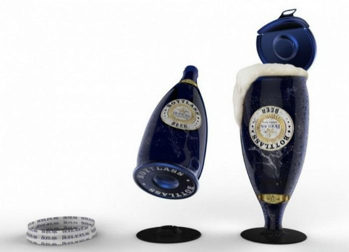Дизайн пивной бутылки. | Фото: Главком.