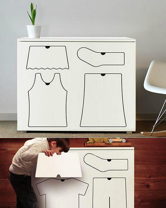 Дизайнерский комод. | Фото: Pinterest.