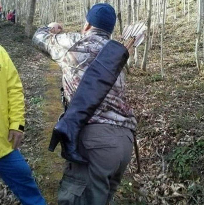 Самый стильный чехол для стрел. | Фото: Телеграф.