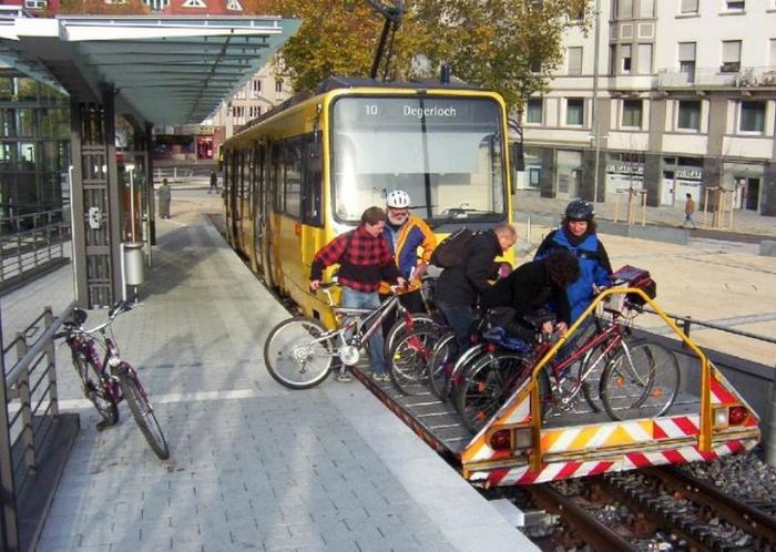 Платформа для велосипедистов. | Фото: Васи.нет.
