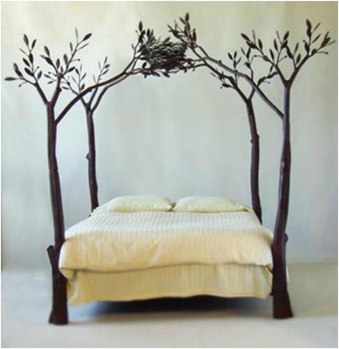 Кровать «Уютное гнездышко».