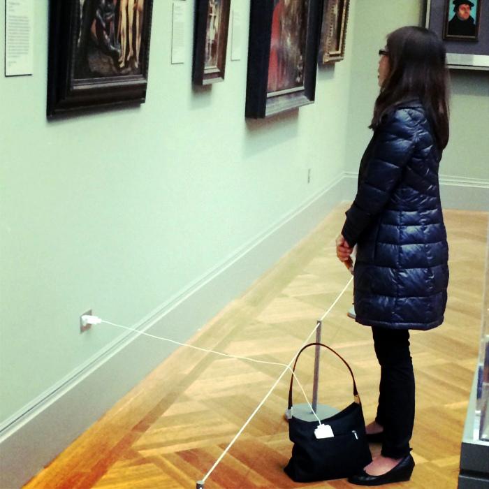 «Любительница искусства. »  Фото: www.mybirds.ru.