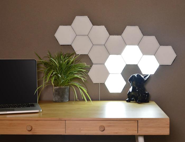 Дизайнерский светильник. | Фото: Gadget Flow.