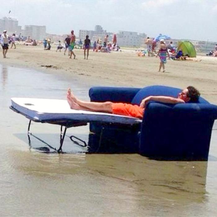 Директор пляжа.