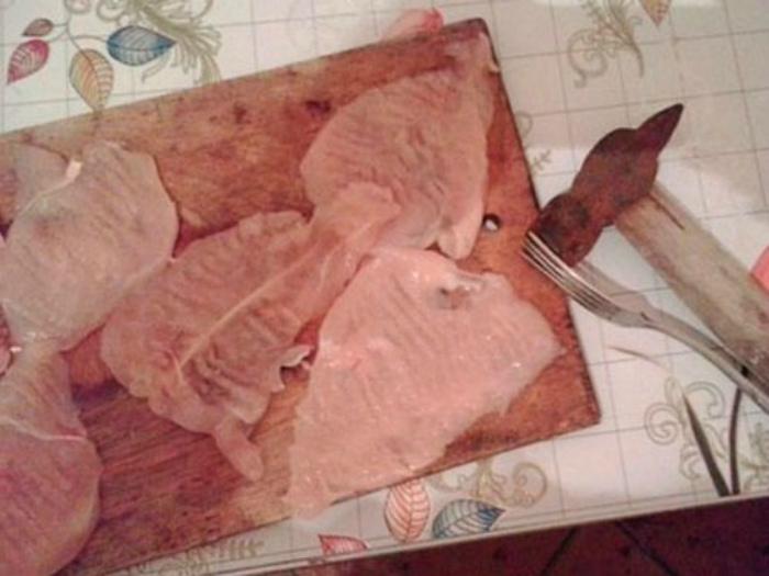 Молоток для мяса.
