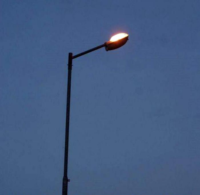 Освещение ночного неба.