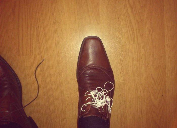 Музыкальные шнурки.