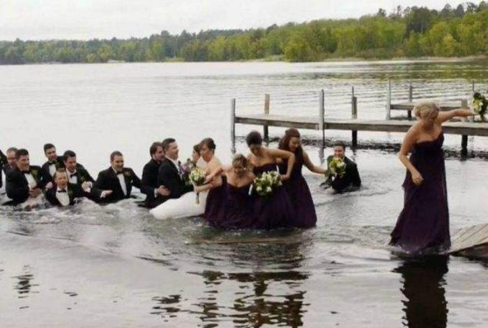 Конфуз на свадьбе.