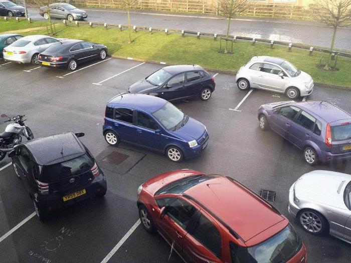 «Как можем, так и паркуемся!»