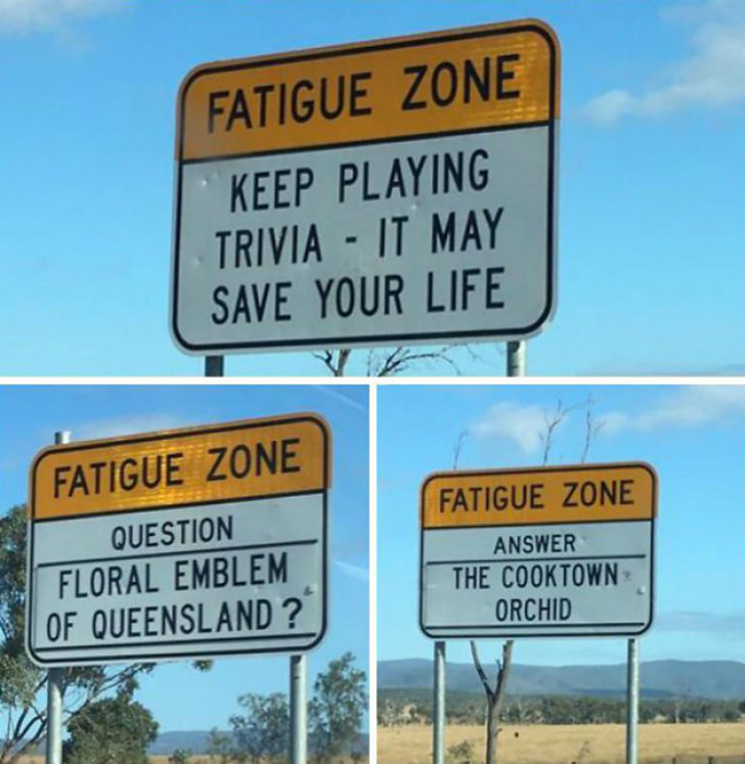 Дорожная викторина на знаках.