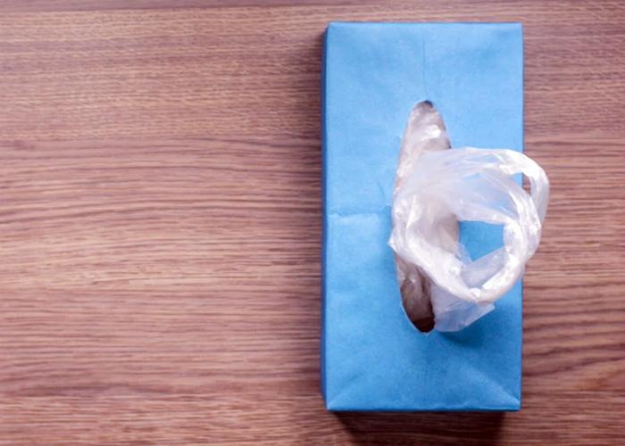 Коробка с пакетиками. | Фото: Pinterest.