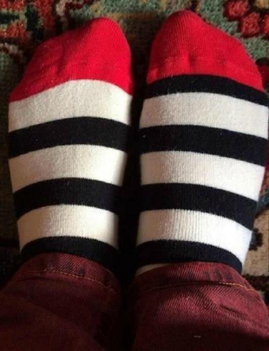 Неправильные носки.