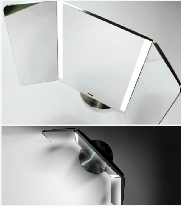 Настольное зеркало Wide-View Sensor Light.