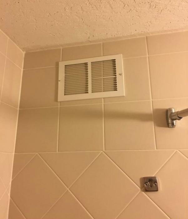 Решетка вентиляции оказалась просто решеткой.