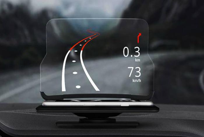 Автомобильный проектор Hudway Glass.