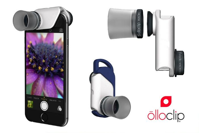 Фотообъектив 4-IN-1 от olloclip включает в себя четыре компактных объектива с качественной оптикой, а также 10-кратным и 15-кратным увеличением.