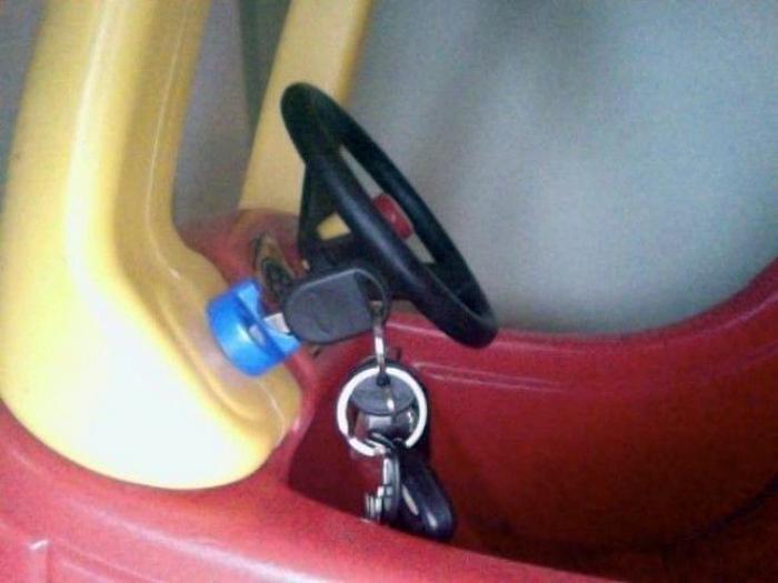 Украденные ключи.