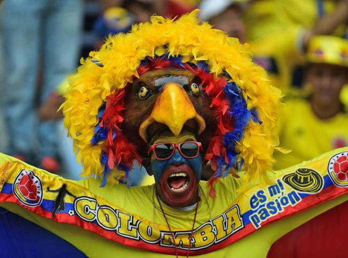Гордый колумбийский орел.