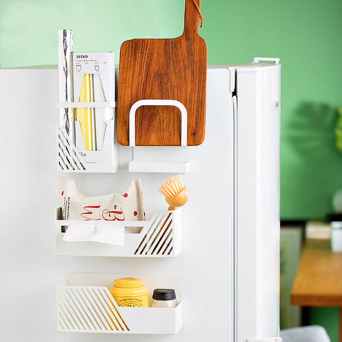 Магнитные полки на холодильник. | Фото: AliExpress.