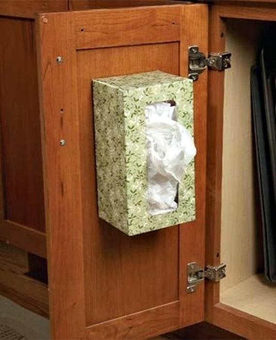 Система хранения пакетиков.