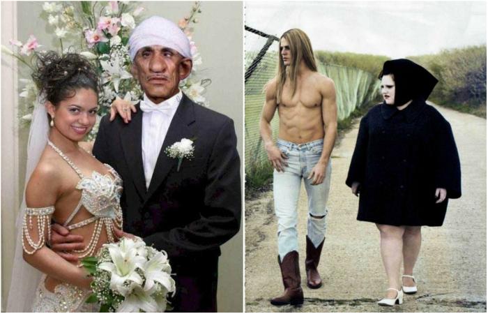 Семейные пары, доказывающие, что настоящая любовь слепа.