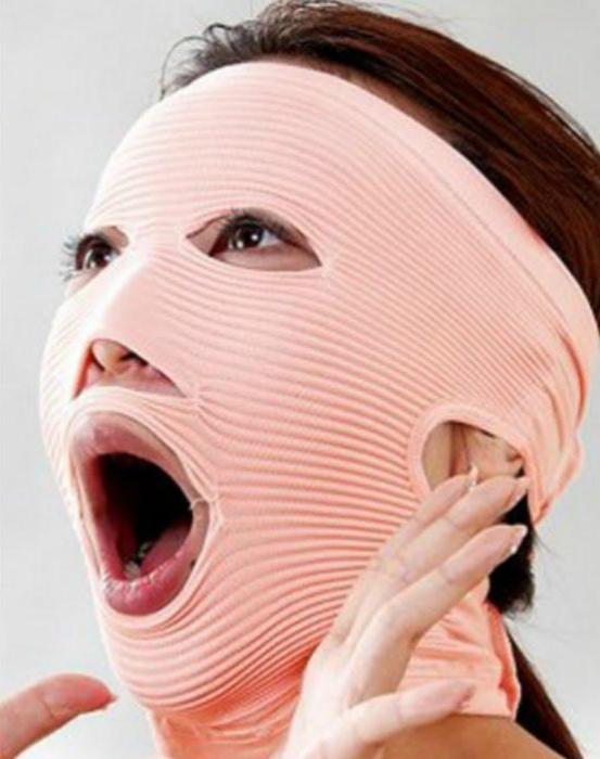 Маска для подтяжки лица.