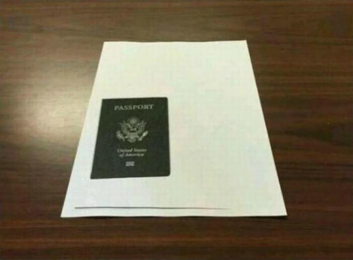 Ксерокопия паспорта.