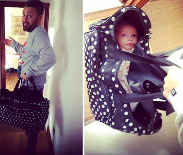 Как транспортировать ребенка. | Фото: Watson.