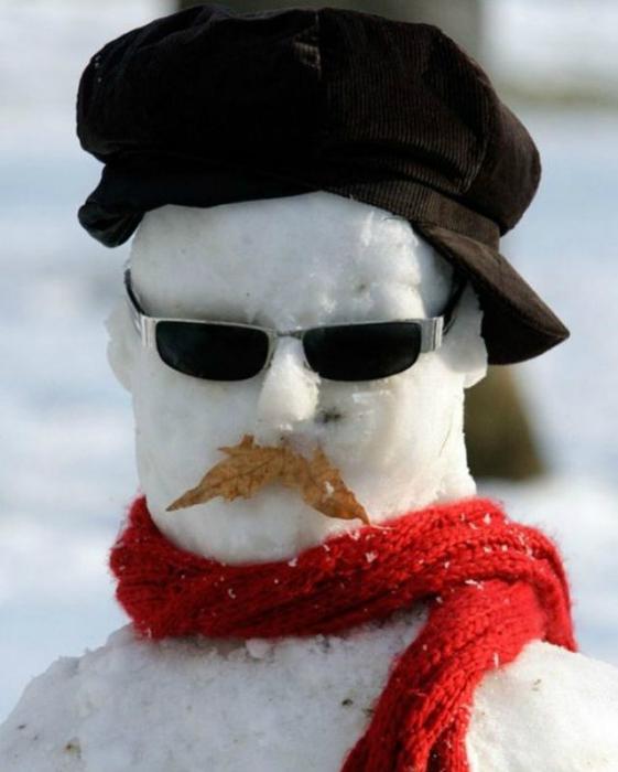 Зима - прекрасное время, чтобы слепить себе идеального мужчину.