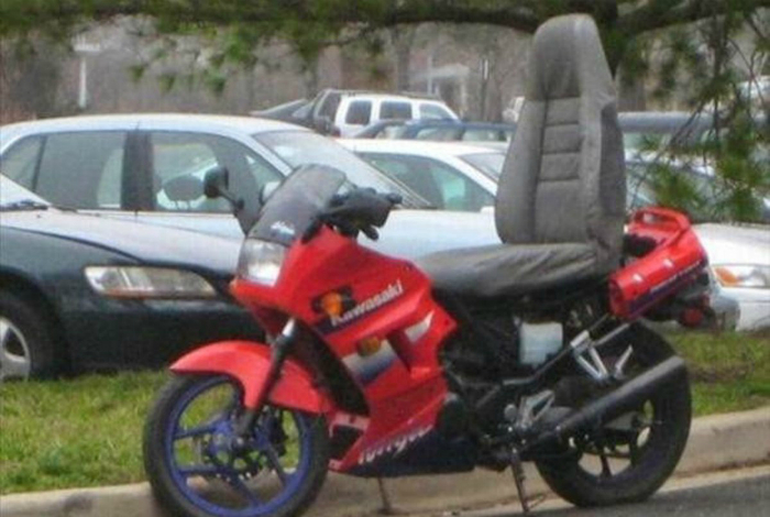 Мотоцикл повышенной комфортности.