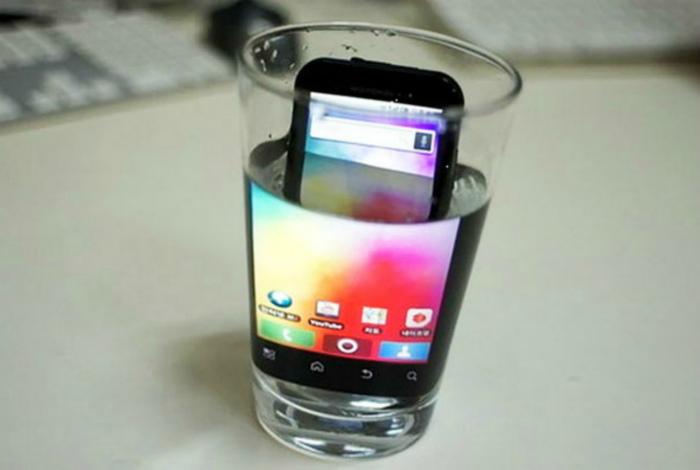 Увеличение экрана смартфона.