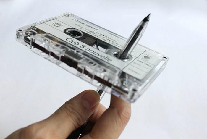 Кассеты с музыкой. | Фото: Pinterest.