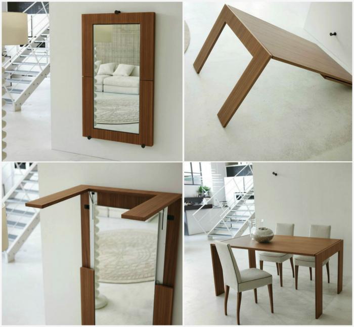 Зеркало-стол.