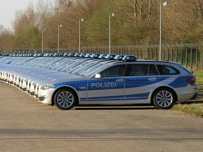 Немецкая полиция.