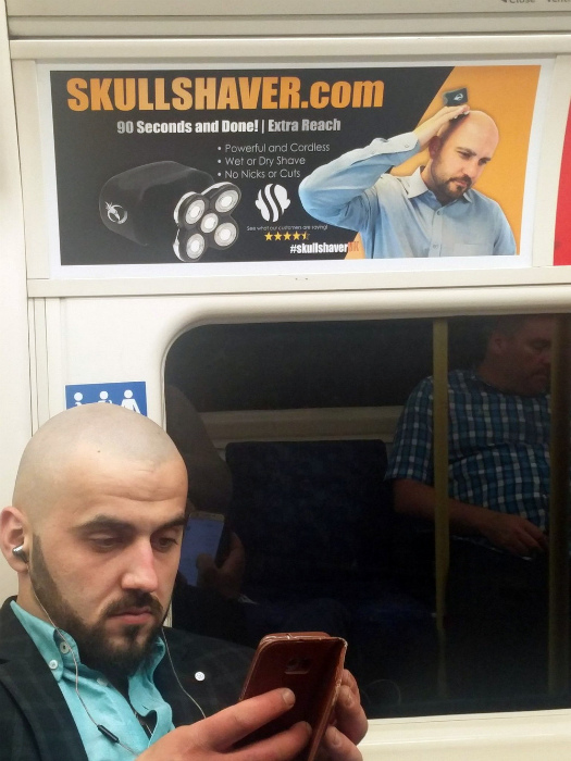 «Скажите, а бритва действительно хорошая?» | Фото: Досенг.