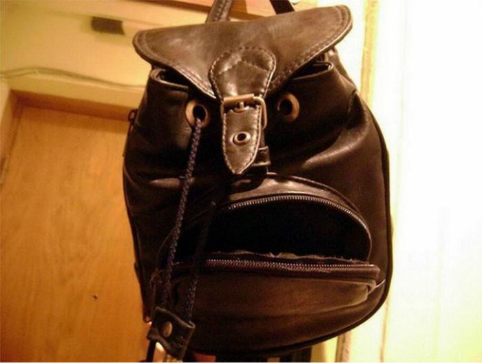 Рюкзак с «лицом».