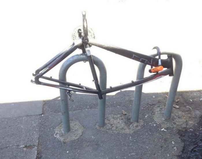 На память о велосипеде. | Фото: Dama.bg.