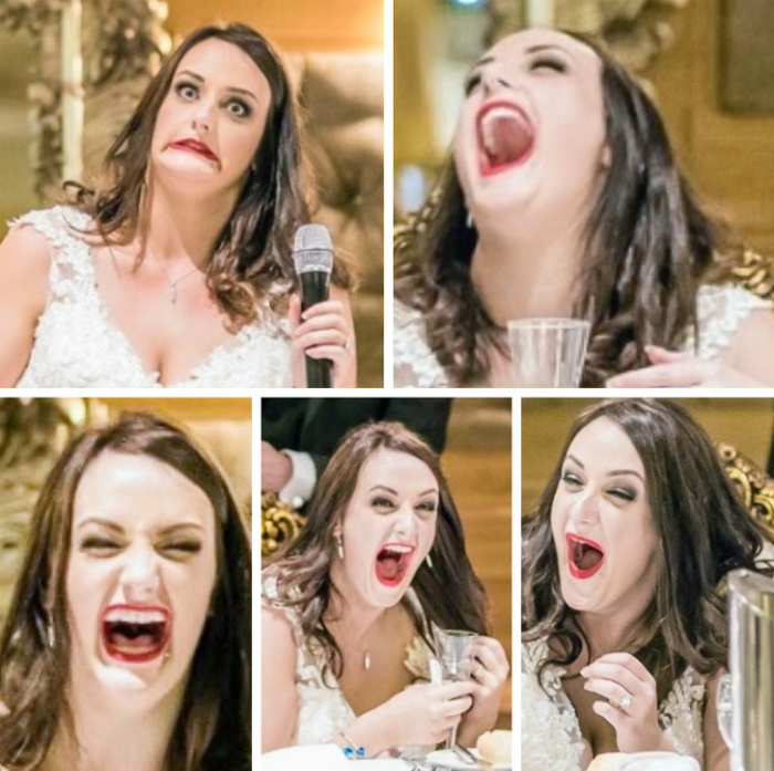Слишком эмоциональная невеста. | Фото: Главная.