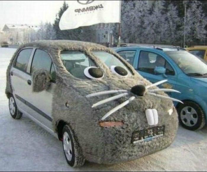 Машина - зверь...